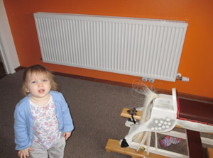 fitting a new radiator